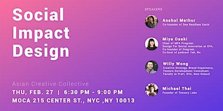 February 2020: Social Impact Design tickets
