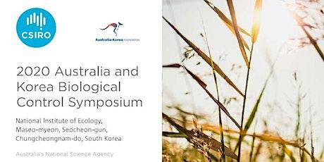 2020 Australia Korea Biological Control & Invasive Species Symposium tickets