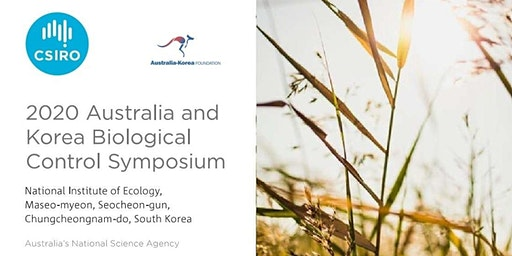 2020 Australia Korea Biological Control & Invasive Species Symposium