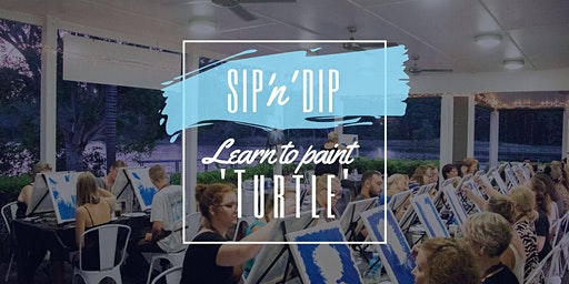 Moselles Springfield - Grab a glass of wine and learn how to paint 'Turtle'