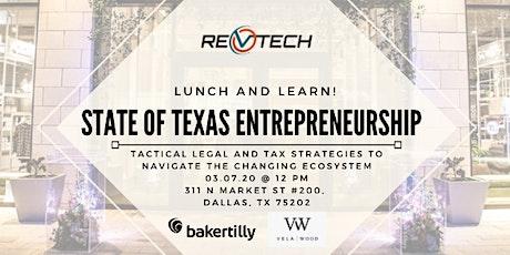 State of Texas Entrepreneurship tickets