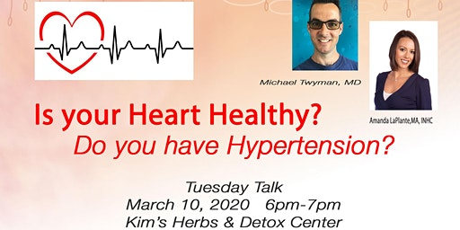 TUESDAY TALK - IS YOUR HEART HEALTHY?!