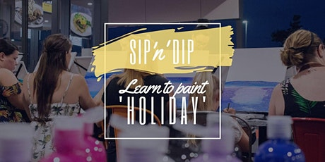 Arizona Redbank - Grab a glass of wine and learn to paint 'Holiday'! tickets