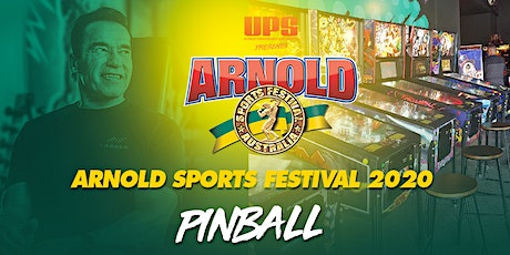 Arnold Sports Festival Pinball Tournaments tickets