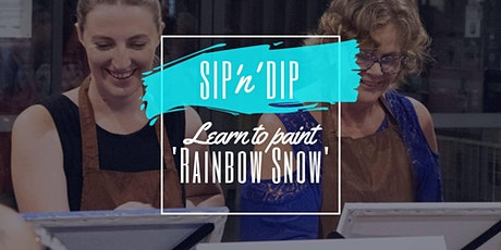 Arizona Redbank - Grab a glass of wine and learn to paint 'Rainbow Snow'! tickets