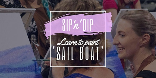 Arizona Redbank - Grab a glass of wine and learn to paint 'Sail Boat'!