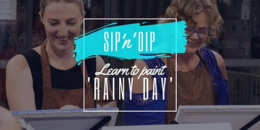 Arizona Redbank - Grab a glass of wine and learn to paint 'Rainy Day'!