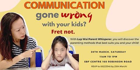 New Parenting Talk tickets