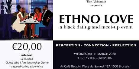 Ethno Love: Afro Speed Dating billets