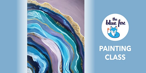 Agate Painting Class