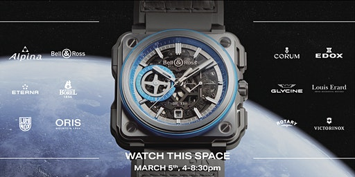 Watch This Space: Exclusive VIP Watch Sale