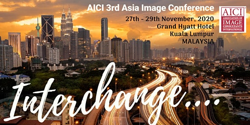 AICI 3rd Asia Conference 27th -29th November, 2020
