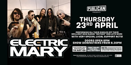 Electric Mary LIVE at Publican, Mornington! tickets