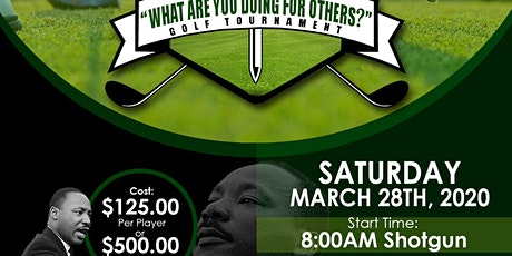 MLK Golf Tournament -Sponors tickets