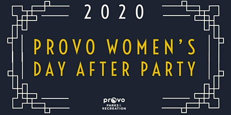 Provo Women's Day Afterparty: Roaring 2020 tickets