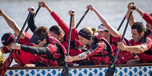 Come and Try Dragon Boating with us! Regular Training...