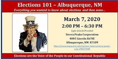 Elections 101  - Albuquerque