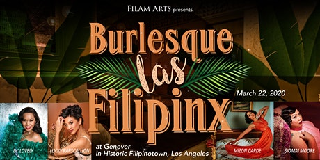 Burlesque Las FilipinX tickets