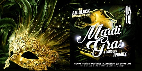 Old School Classic All Black Party, 4 Schools 1 Family tickets