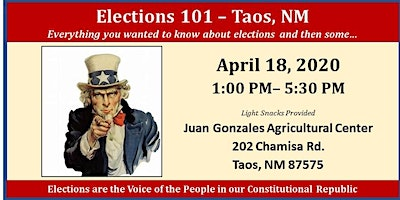 Elections 101 - Taos, NM