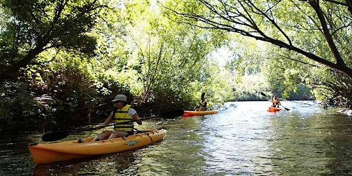 Women's Introductory Paddle with the Platypus Kayak Adventure