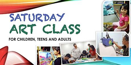 CASCADE'S Saturday Art Class tickets