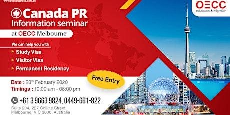 OECC Canada PR Information Seminar | Melbourne | 2020 tickets