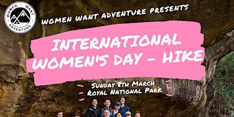 International Women's Day Hike // Women Want Adventure tickets