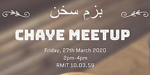 Chaye Meetup - بزمِ سخن