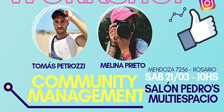 WORKSHOP COMMUNITY MANAGEMENT - TOMAS PETROZZI & MELINA PRIETO entradas