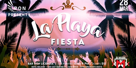 "PON presents; HOT Latino Nights ""La Playa"" at the Waldorf Hotel tickets"