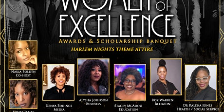 12th Annual Women of Excellence Awards and Faith Scholarship ceremony tickets