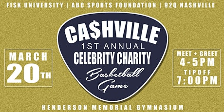 1st Annual Cashville Celebrity Charity Basketball Game tickets
