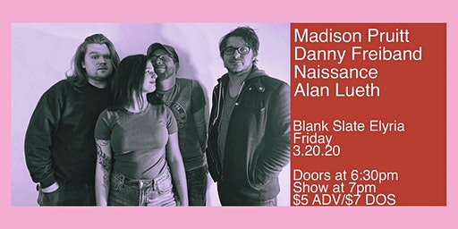 Madison Pruitt/Danny Freiband/Naissance/Alan Lueth