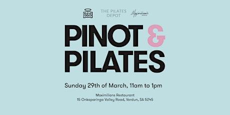 Pinot & Pilates tickets