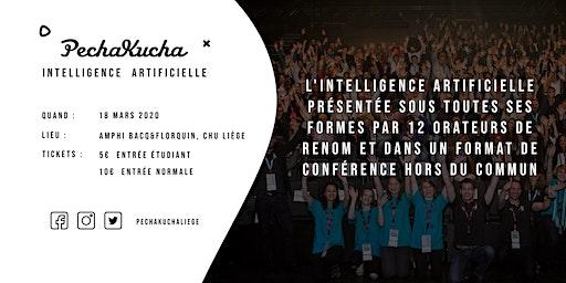 PechaKucha Liège - Intelligence Artificielle