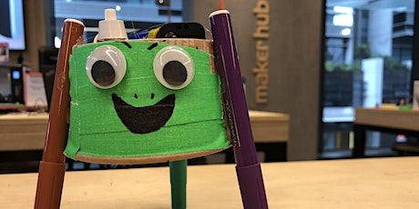 Squiggle Bot! Simple and silly electronics workshop for everyone tickets