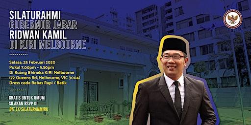 Silaturahim Bersama Bapak Ridwan Kamil