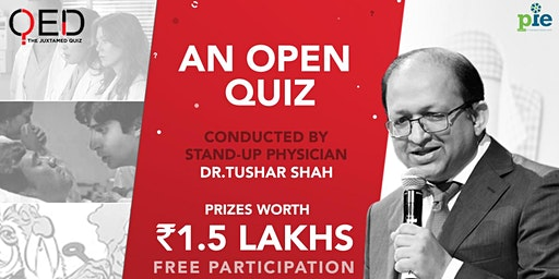QED 2020 - An open quiz conducted by physician Dr. Tushar Shah