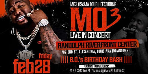 MO3 Live In Concert In Alexandria