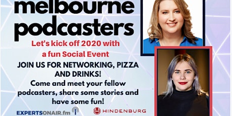Melbourne Podcasters: Social Event - Join us for Networking, Pizza and Drinks! tickets
