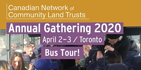 CNCLT Annual Gathering - April 2nd Bus Tour of Toronto CLTs tickets