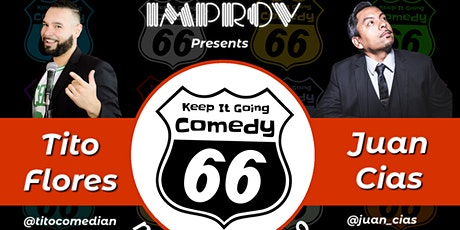 March 10 at 8 PM the Ontario improv presents KEEP IT GOING COMEDY Free tixs tickets