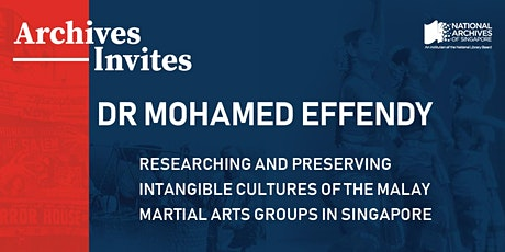 Archives Invites – Dr Mohamed Effendy tickets