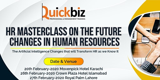 HR MASTERCLASS ON THE FUTURE CHANGES IN HR
