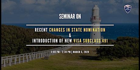 State Nomination PR Pathway Seminar tickets