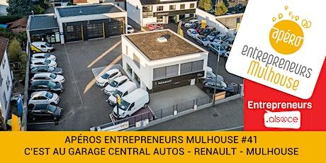 Apéro Entrepreneurs MULHOUSE  #41 - GARAGE CENTRAL AUTOS MULHOUSE billets