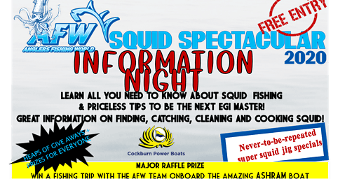 Squid Spectacular FREE Information Night