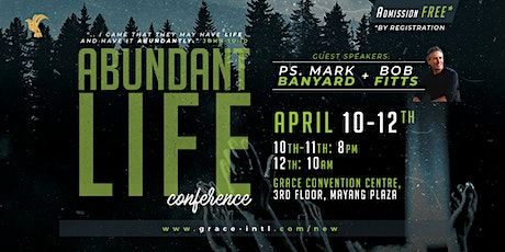 ABUNDANT LIFE CONFERENCE tickets
