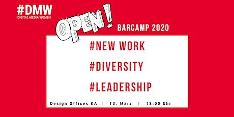 #DMW Open Barcamp 2020 in Karlsruhe Tickets